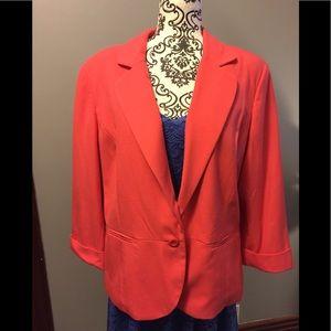 Beautiful coral blazer